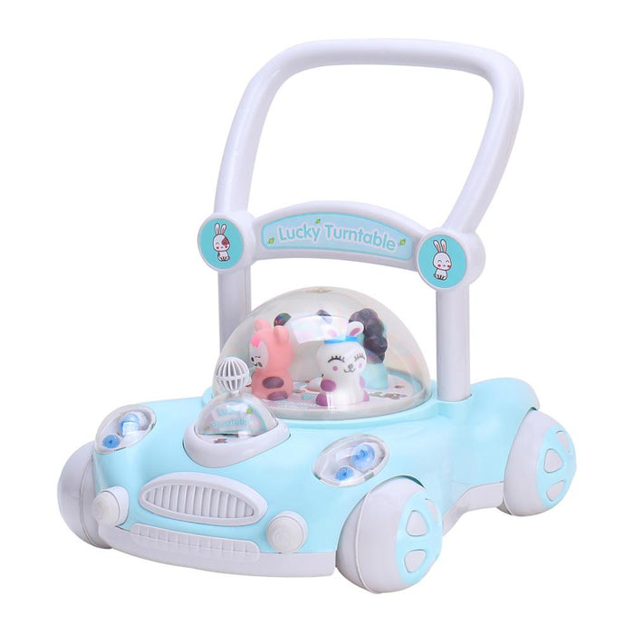 Push Along Baby Walker with Rotating Cartoon Characters - ZX7621 - GADGET EXPRESS®