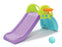 Kids Foldable Climbing Slide with Detachable Basketball Hoop and Non-slip Floor Pad - GADGET EXPRESS®