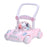 RICCO Baby Sit to Stand Push Along Walker with Rotating Cartoon Characters for 1+ Year Olds ( Model ZX7621) PINK - GADGET EXPRESS®