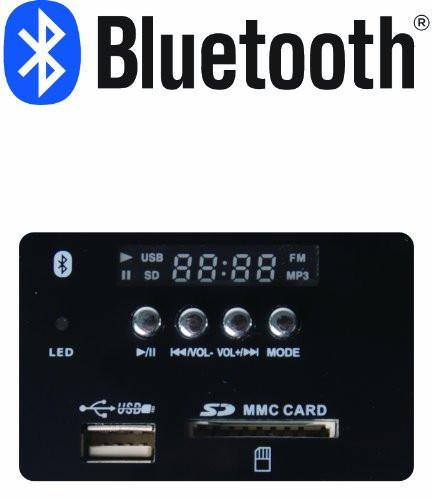 T2125  Bluetooth 2.1 Channel Wooden FM Radio USB SD Card Support 3.5mm AUX Home Hifi Speaker System for Desktop Laptop Mobile Phones MP3 Players iPhone iPad iPod PSP SKY TV - GADGET EXPRESS®