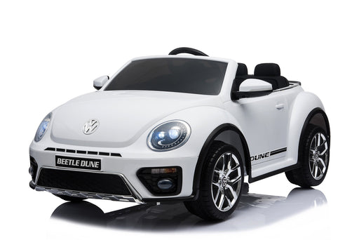 Volkswagen Licenced VW BEETLE 12V 4.5A Battery Powered Kids Electric Ride On Toy Car (MODEL S303 RED) - GADGET EXPRESS®