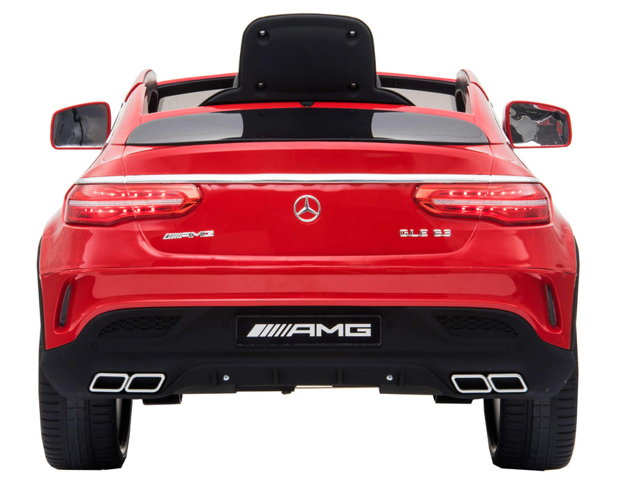 Mercedes Benz AMG GLE63 Coupe Licensed 12V 7A Battery Powered Kids Electric Ride On Toy Car RICCO AR005 (3 Colours)