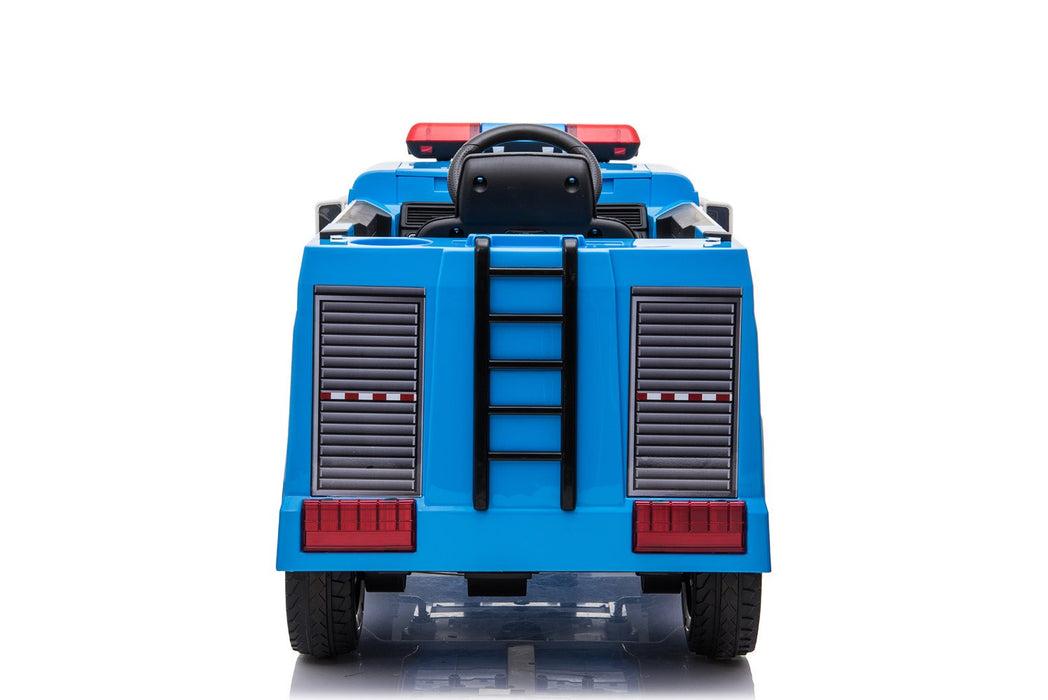 12V 10A Electric Ride on Police Truck - SX1818 - GADGET EXPRESS®
