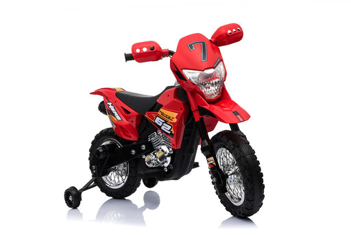 6V 4.5A 35W Battery Powered Kids Electric Ride On Toy Dirt Motor Bike (Model: BDM0912) Red - GADGET EXPRESS®