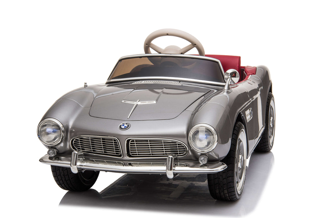 Classic BMW507 Licensed 12V 7A Battery Powered Electric Ride On Toy Car with EVA Wheels By Ricco Toys