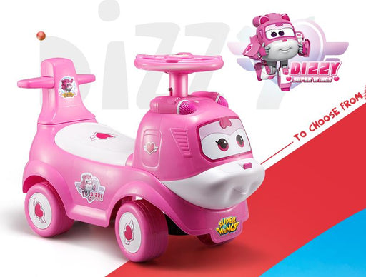 Superwings DIZZY Kids Ride on Air Plane Car with Music Function FD6816