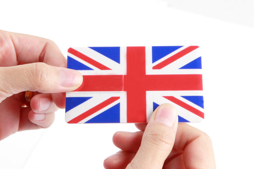 8GB 04-001 Credit Card Sized Novelty Flags USB 2.0 Flash Drive - GADGET EXPRESS®