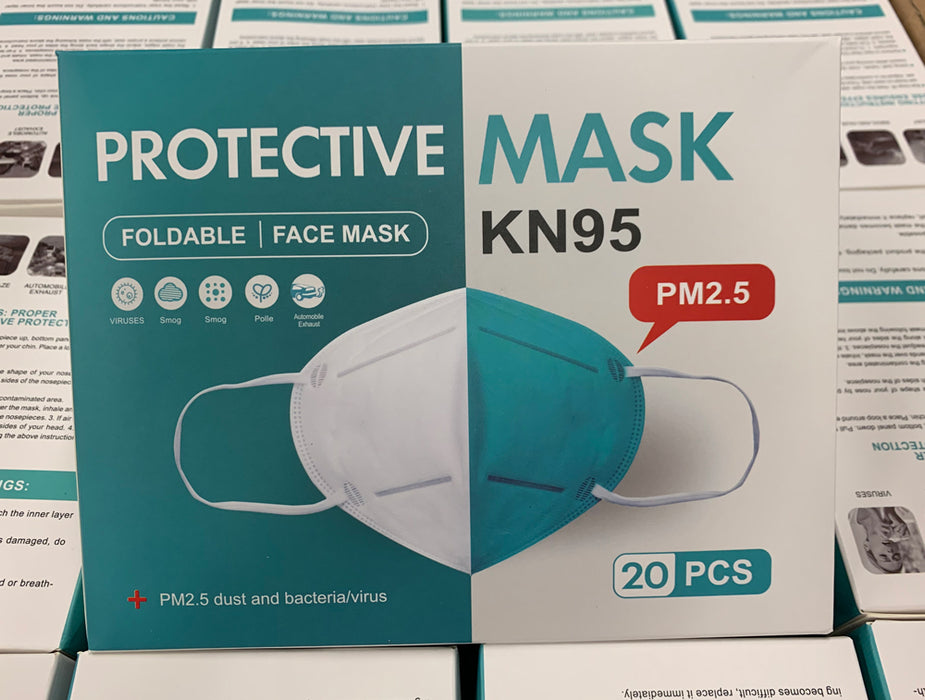 Premium Protective Foldable FFP2 PPE KN95 Face Masks ( Multi Packed) - GADGET EXPRESS®