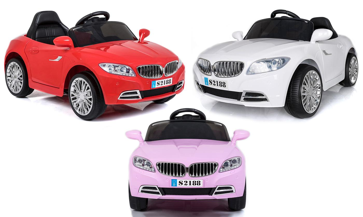PALLET OF 12 - GRADED RETURNED BMW Style Electric Ride On Car (Model: S2188) - GADGET EXPRESS®
