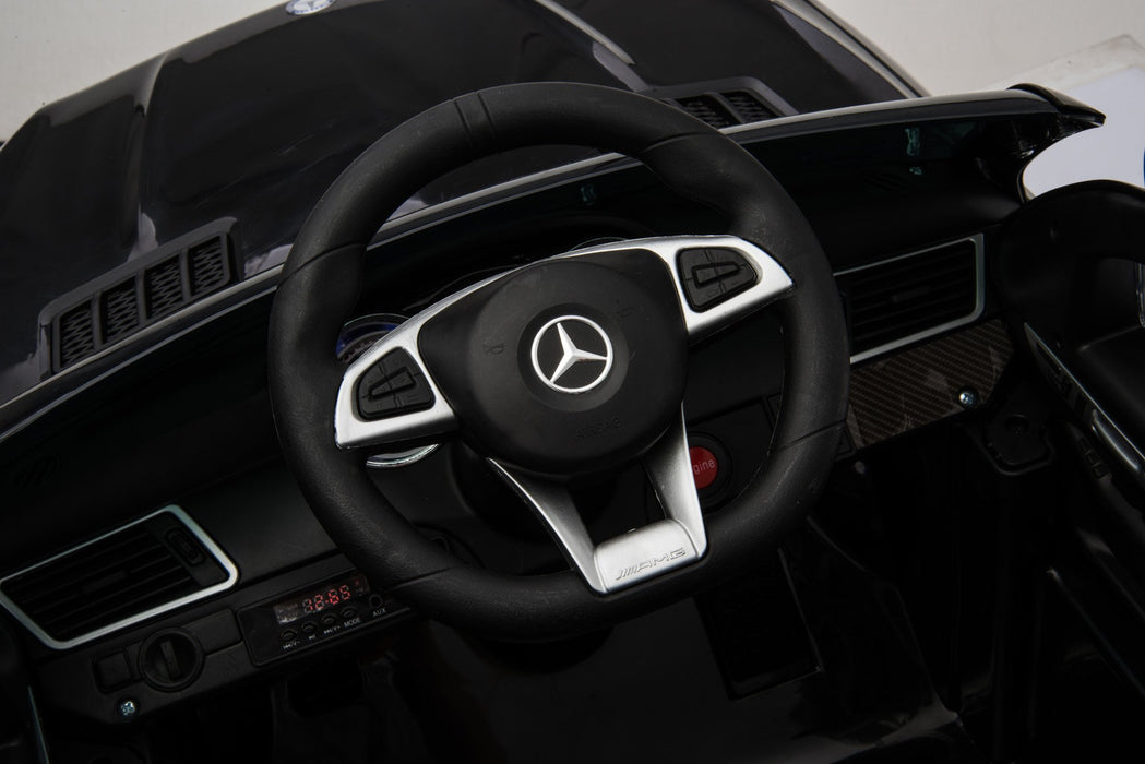 MERCEDES BENZ GLE63S AMG Licensed 4x4 Kids Electric Ride On Car with Remote Control LED Lights and Music (TR1701 BLACK)