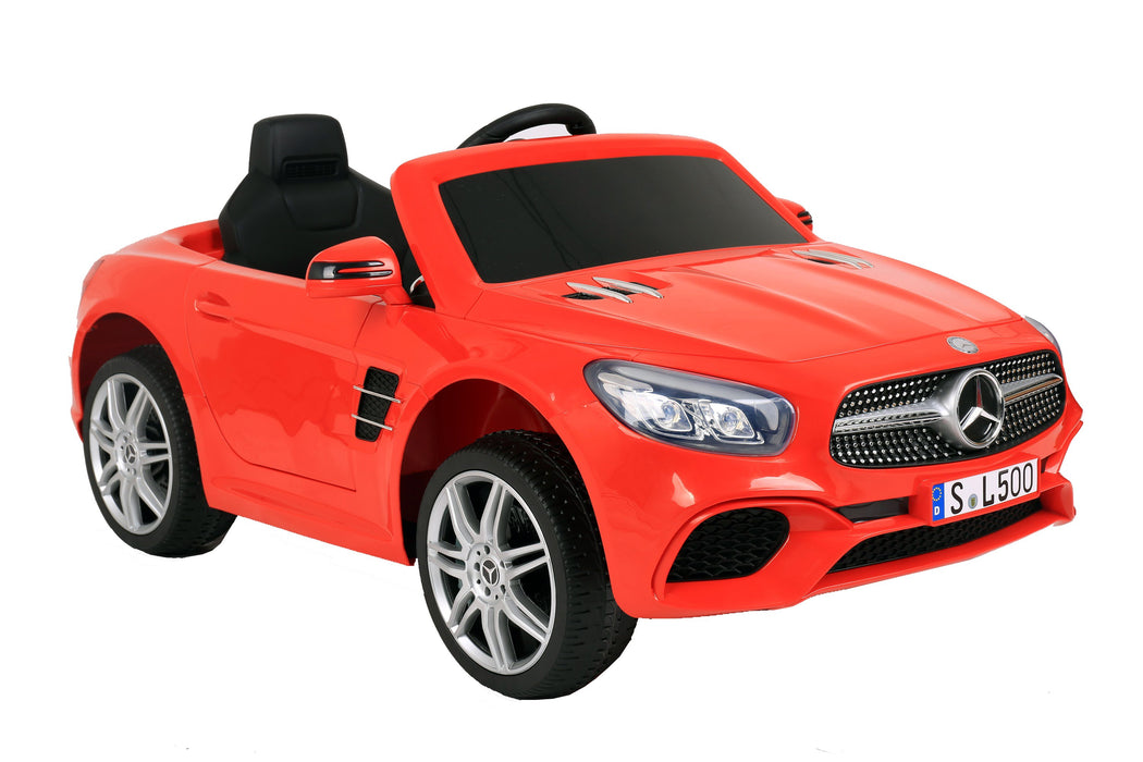 12V 7A Mercedes Benz Licenced SL500 Battery Powered Kids Electric Ride On Toy Car S301 WHITE - GADGET EXPRESS®