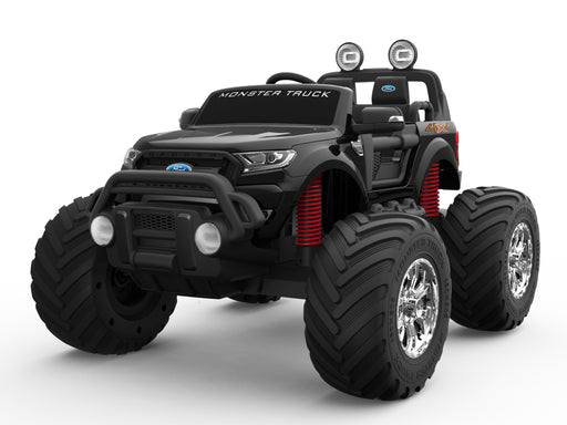12V 10A Ford Ranger Licenced Monster Truck 4 Motors Kids Electric Ride on Car with Metallic Paint EVA Wheels and Leather Seats (MT550 Premium Version) - GADGET EXPRESS®