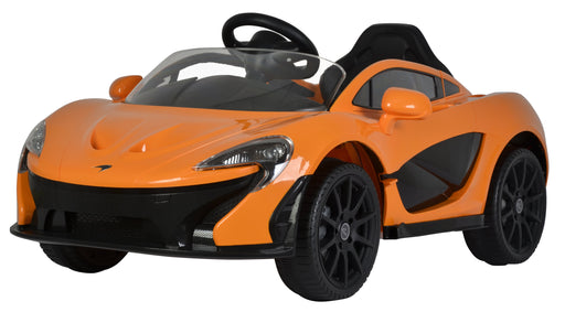 McLaren P1 Licenced 12V 7A Battery Powered Kids Electric Ride On Toy Car (Model: 672R) Orange