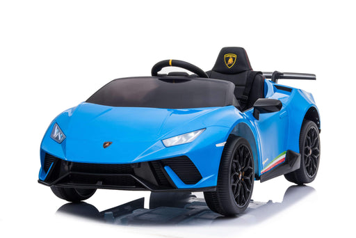 RICCO SR308 12V Lamborghini Huracán Licensed Battery Powered Kids Electric Ride On Toy Car