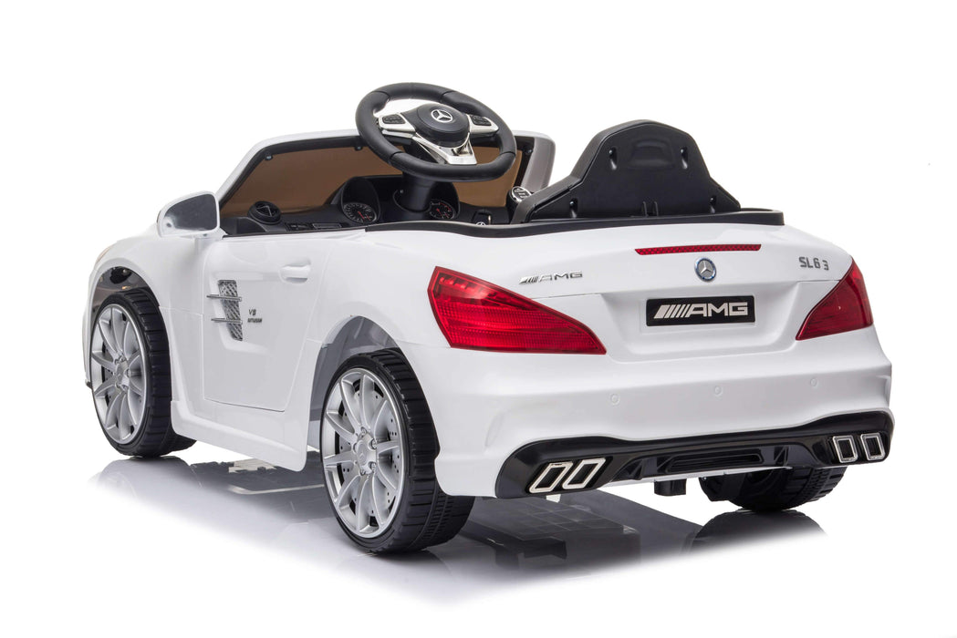Mercedes Benz SL63 Licensed 12V 7A Battery Powered Kids Electric Ride On Toy Car (3 Colours)