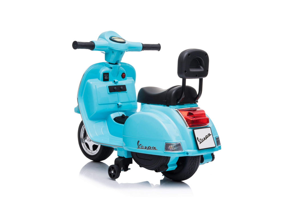 12V 7A MINI Vespa PX150 Licensed Electric Ride on Car (5 colours, 18-36 months old) - A008
