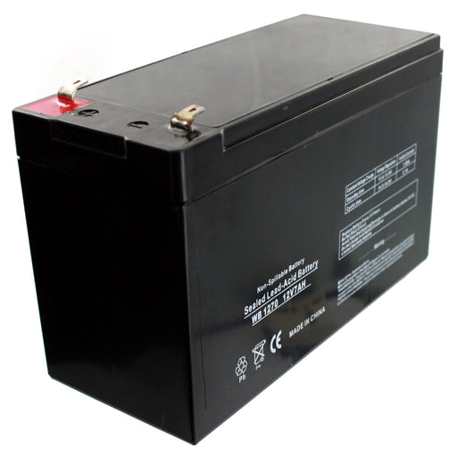 12V 7Ah Rechargable Lead Acid Battery for Kids Ride On Toy Cars - GADGET EXPRESS®