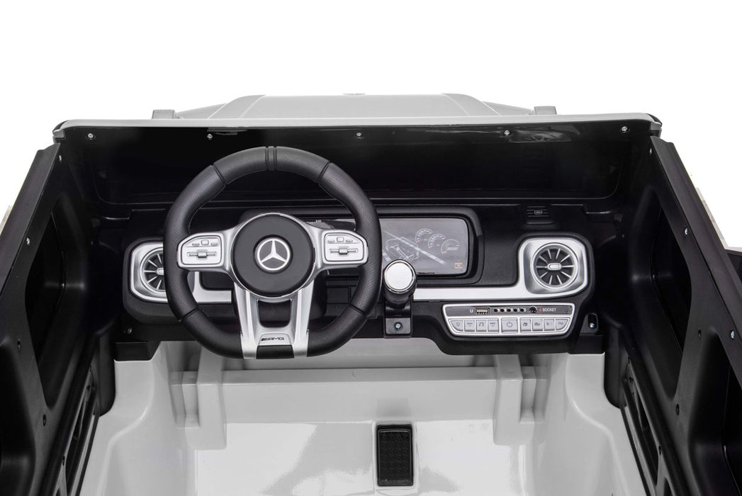 Mercedes Benz AMG G63 Kids Electric Ride On Bluetooth, FM, MP3 Two Seater (2 Colours)