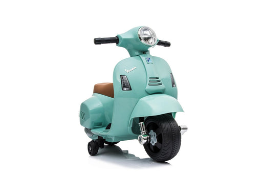 6V 4.5A Electric Ride-on Vespa GTS with Training Wheels (4 colours, 18-36 months old) - H1