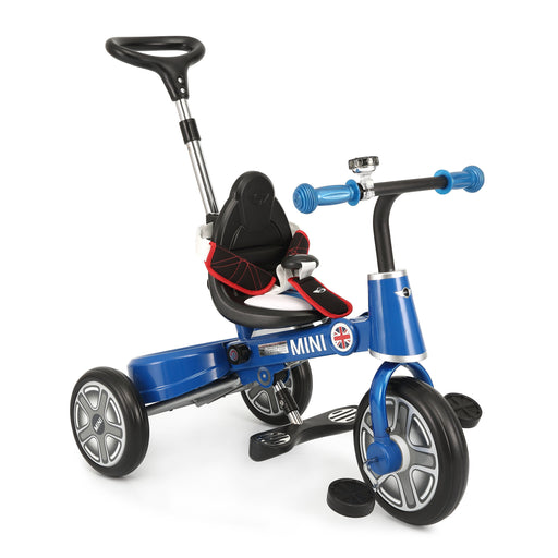 "Genuine BMW Mini Official Licensed 10"" Mini Cooper Tricycle Trike (RSZ3003 ) BLUE BLACK RED"