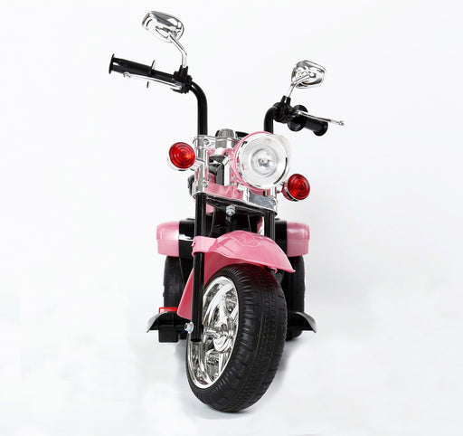 Kids 3 Wheel Chopper 6V 4.5Ah Battery Powered Harley Style Electric Motor Trike (Model: TR1501 ) PINK - GADGET EXPRESS®