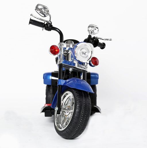 Kids 3 Wheel Chopper 6V 4.5Ah Battery Powered Harley Style Electric Motor Trike (Model: TR1501 ) BLUE - GADGET EXPRESS®