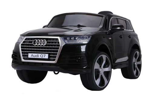 AUDI Q7 2016 Licensed 4x4 Kids Electric Ride On Car with Remote Control LED Lights and Music (JJ2188 BLACK) - GADGET EXPRESS®
