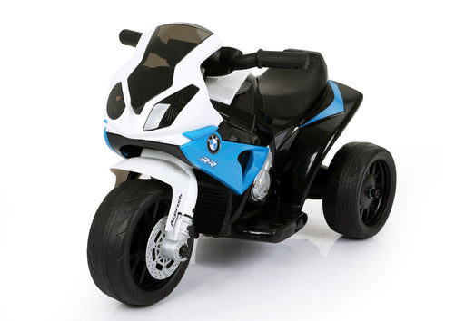 BMW Licenced 6V 4.5A 35W Battery Powered Kids Electric Ride On Toy Motorcycle Bike (Model JT5188 BLUE) - GADGET EXPRESS®