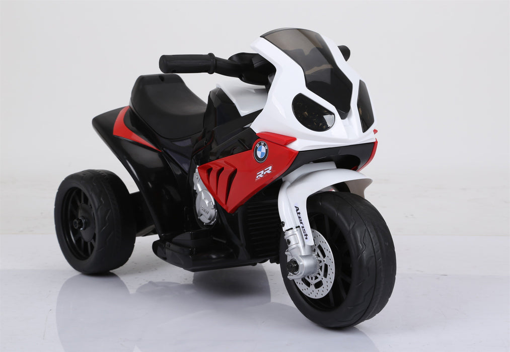 BMW Licenced 6V 4.5A 35W Battery Powered Kids Electric Ride On Toy Motorcycle Bike (Model JT5188 RED) - GADGET EXPRESS®