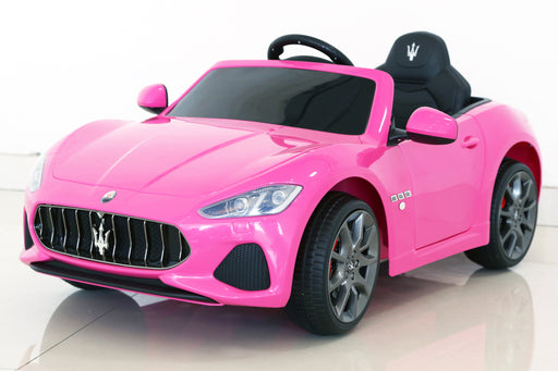Maserati GranCabrio Sport Licenced 12V 7A Battery Powered Kids Electric Ride On Toy Car (MODEL S302 PINK) - GADGET EXPRESS®