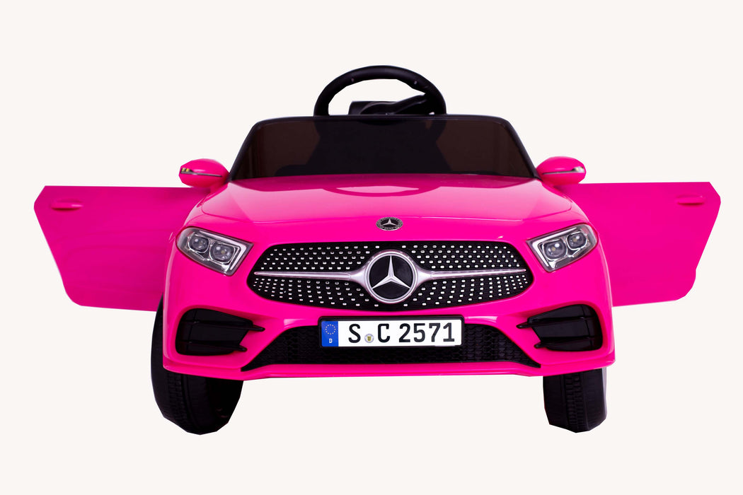RICCO® 12V 4A Two Motors Mercedes Benz CLS350 Licensed Battery Powered Kids Electric Ride On Toy Car (3 colours)