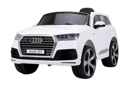 AUDI Q7 2016 Licensed 4x4 Kids Electric Ride On Car with Remote Control LED Lights and Music (JJ2188 WHITE) - GADGET EXPRESS®