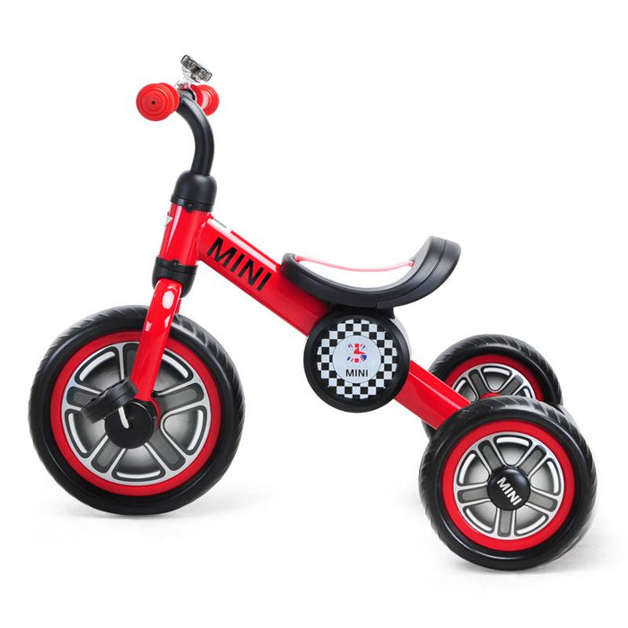 "RED RSZ3002 Genuine BMW Mini Official Licensed 10"" Mini Cooper Tricycle Trike - GADGET EXPRESS®"