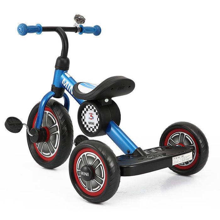 "BLUE RSZ3002 Genuine BMW Mini Official Licensed 10"" Mini Cooper Tricycle Trike - GADGET EXPRESS®"