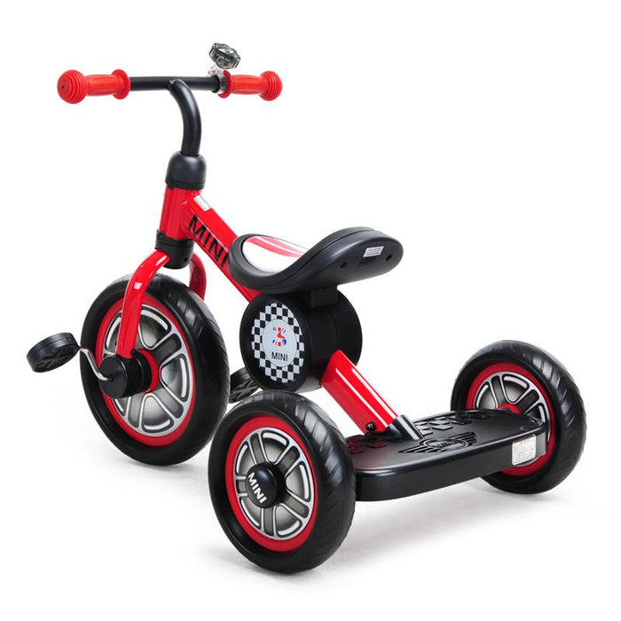 "RED RSZ3002 Genuine BMW Mini Official Licensed 10"" Mini Cooper Tricycle Trike"
