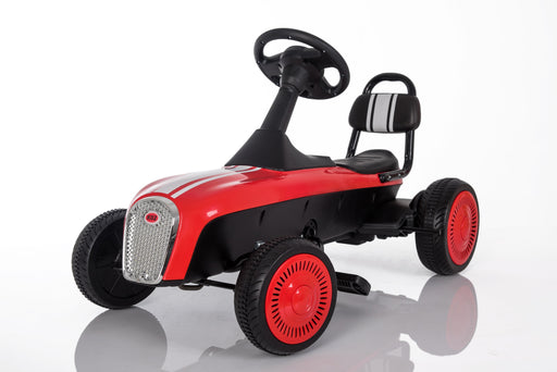 3-8 Year Old Kids Outdoor Go Kart with Foot Pedal and Brake Lever (Model: K02) RED - GADGET EXPRESS®