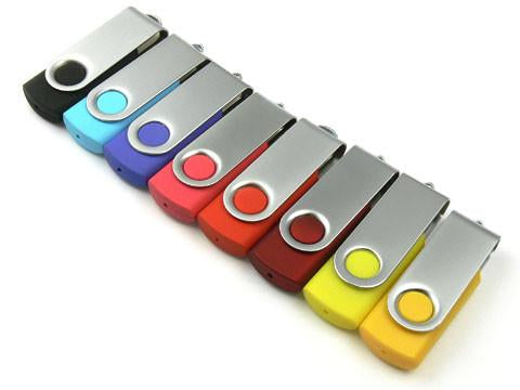 01-001 Swivel USB 2.0 Flash Drive Memory Stick Pen Thumb (8/16/32/64GB) (8 colors) - GADGET EXPRESS®