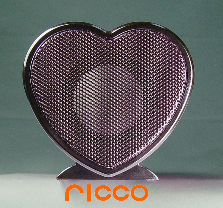 Heart Shaped Aluminium Portable iPod Nano Touch iPhone 3GS 4 30-PIN Docking Speaker Charger- VX - GADGET EXPRESS®