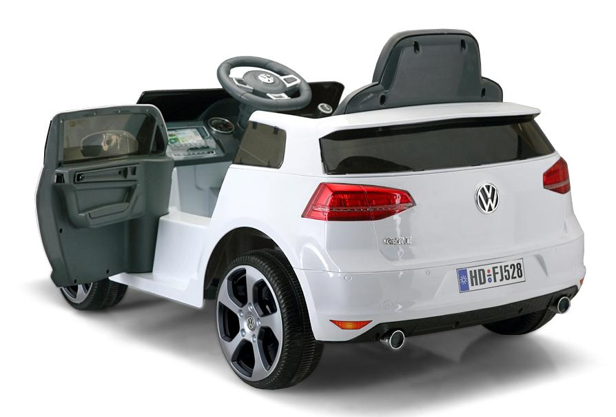 12V 7A Electric Ride on Volkswagen Golf GTI - ME528 WHITE