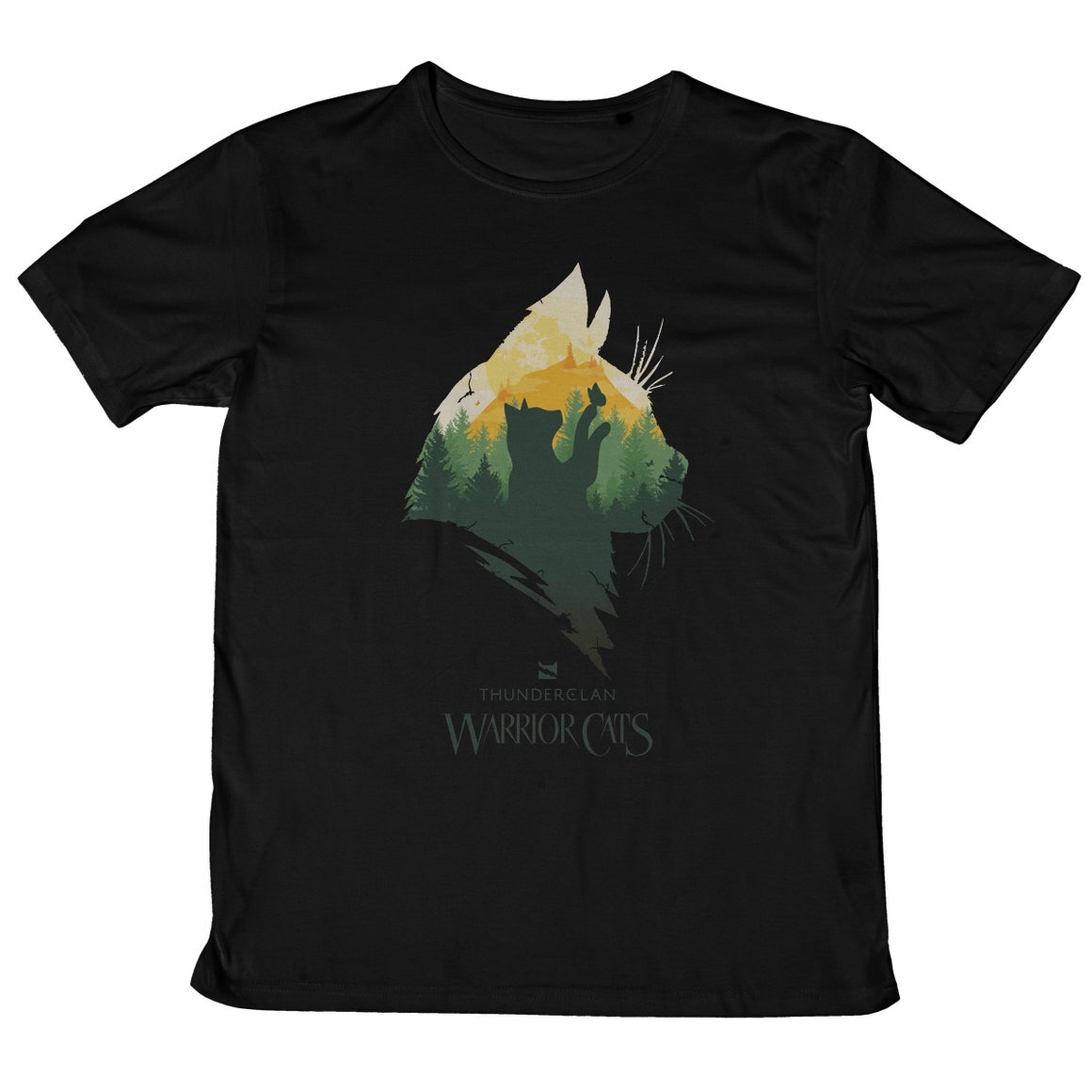 ThunderClan Epic Head Adult T-Shirt