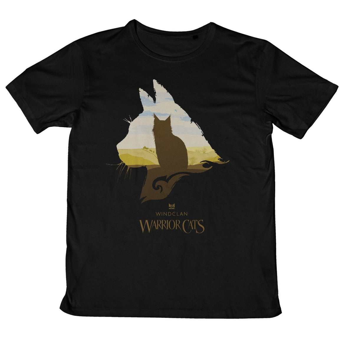 WindClan Epic Head Adult T-Shirt