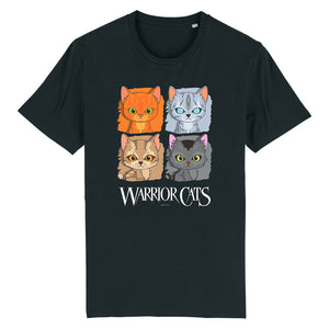 Warrior Cats - Four Cats - Youth Unisex T-Shirt