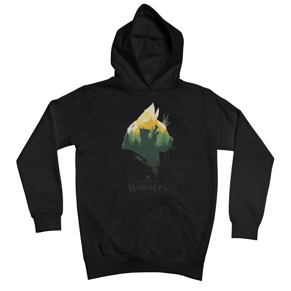 OFFER ThunderClan Epic Head Youth Hoodie