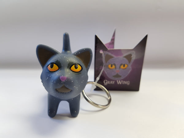 Star Clan's Grey Wing keychain