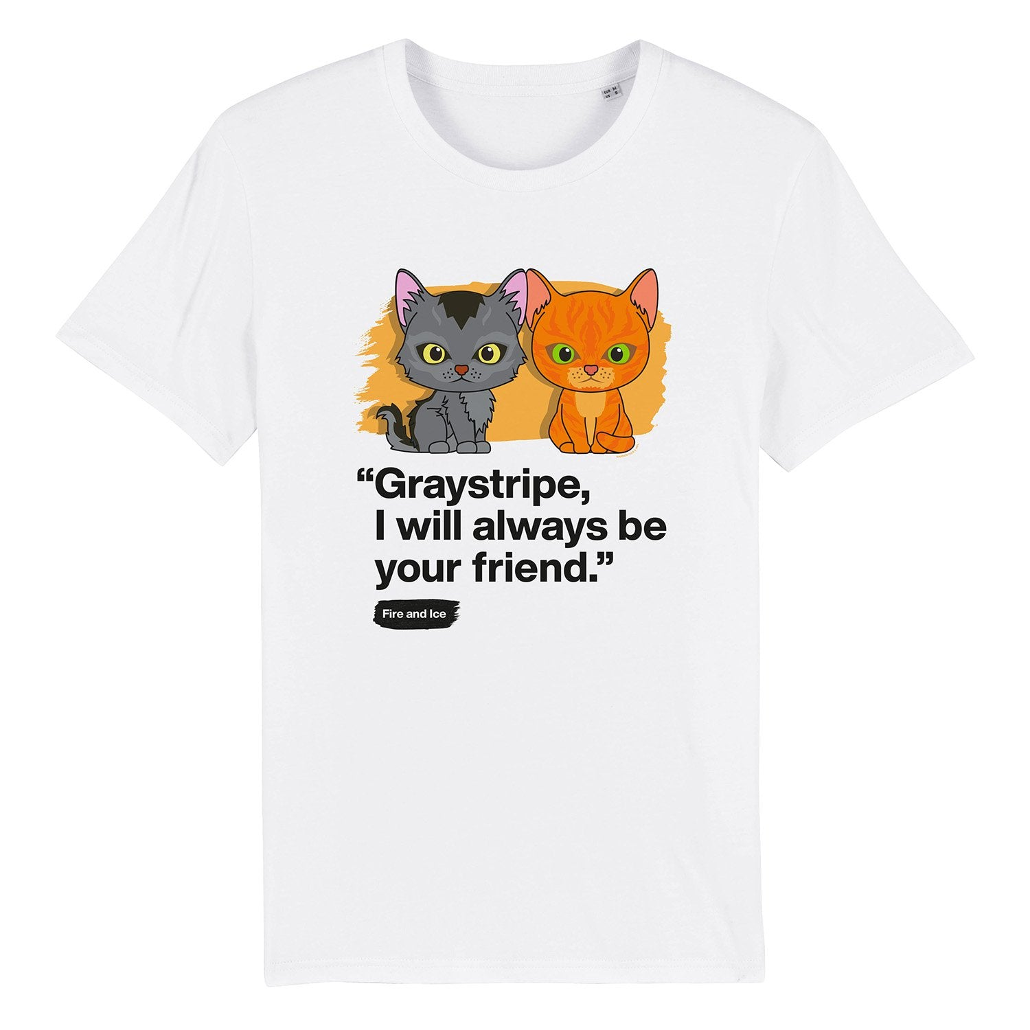 Always be your friend - Graystripe & Firestar - Youth Unisex T-Shirt