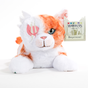 Brightheart Large Plush Cat  PRE-ORDER