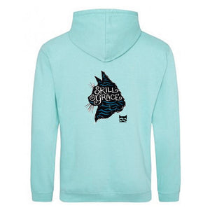 OFFER RiverClan Creed Hoodie Aqua Blue