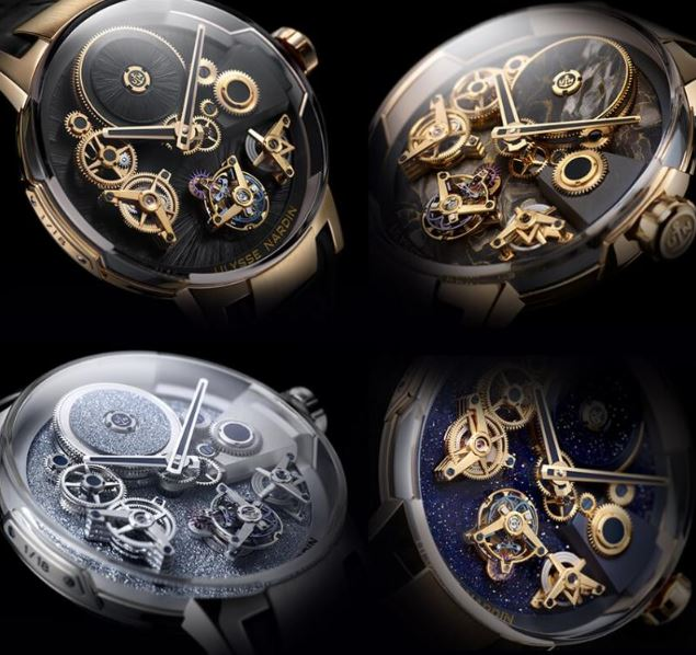 Ulysse Nardin Free Wheel Limited Editions