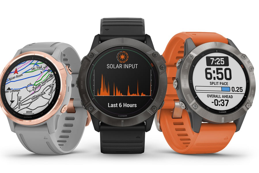 New Garmin Outdoor Fenix 6 Series