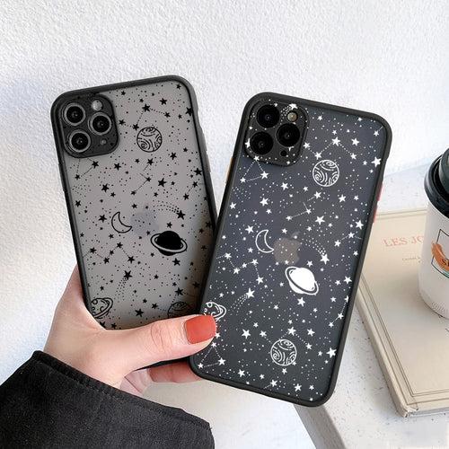 Cartoon Planets iPhone 11-12 Case